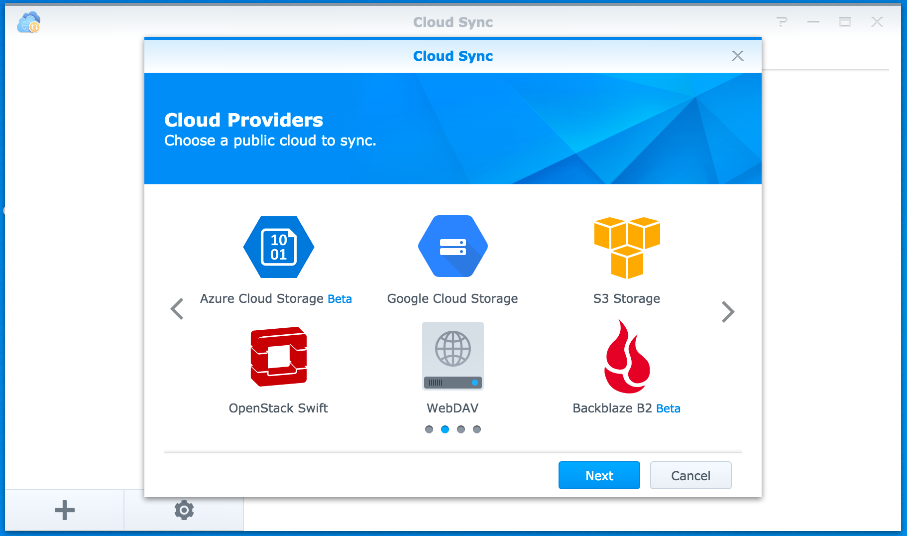 Synology NAS and Backblaze B2 Cloud Storage