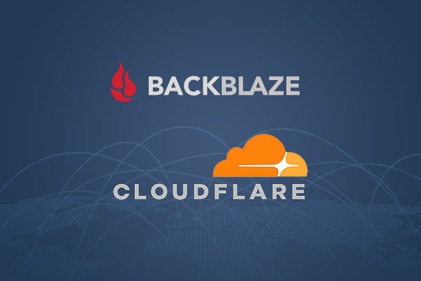 Backblaze and Cloudflare