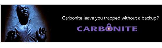 Carbonite data loss
