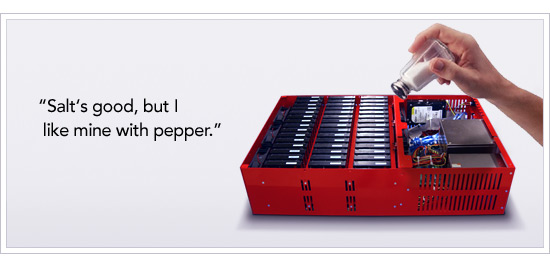 Salt is great, but I prefer pepper on my drives