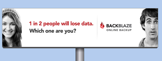 online backup billboard 1-in-2-people