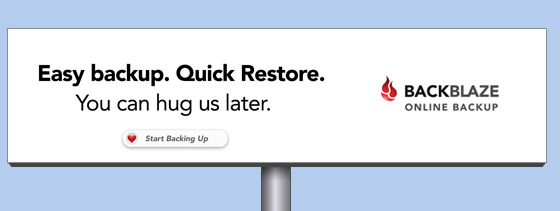 online backup billboard easy-backup