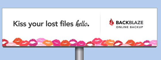 online backup billboard say-hello