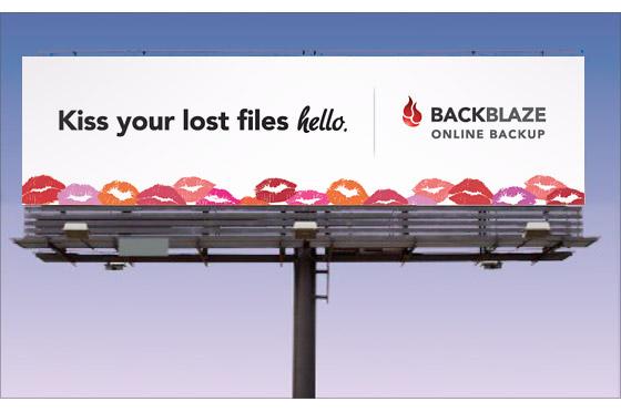 online backup billboard