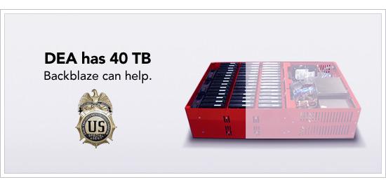 DEA storage