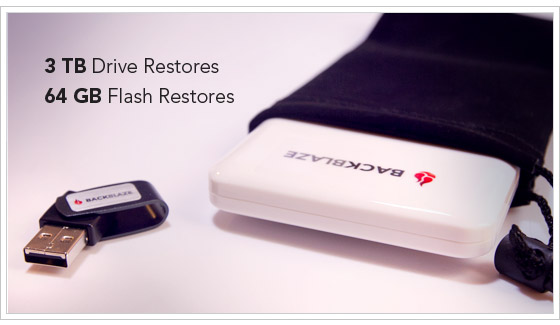 USB and Flash Drives Restores