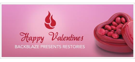 Online Backup for Valentines Day
