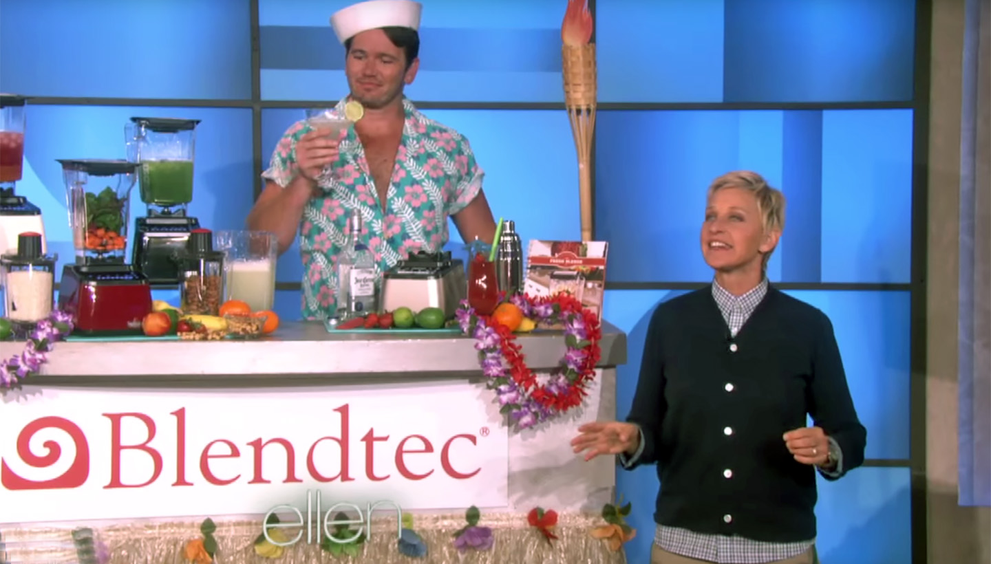 Blendtec on the Ellen Show