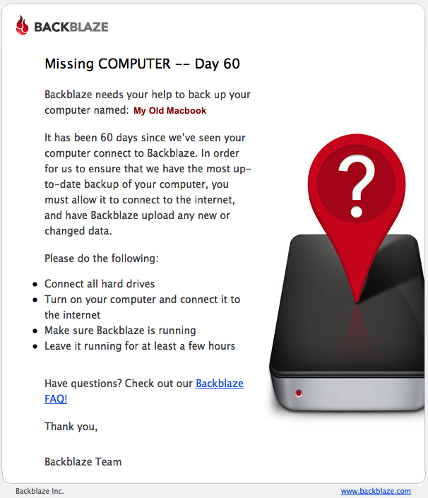 R2.5 computer missing