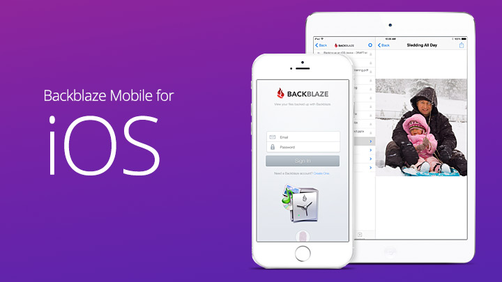 Backblaze Mobile for iOS