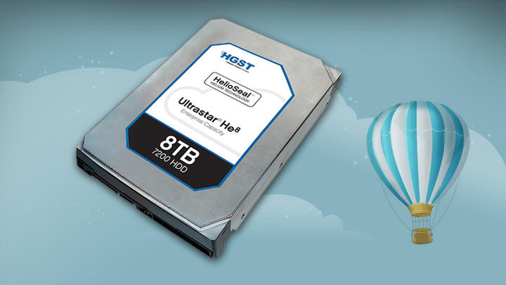 Backblaze uses HGST Helium drives