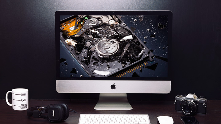 how to take backup from broken hard drive
