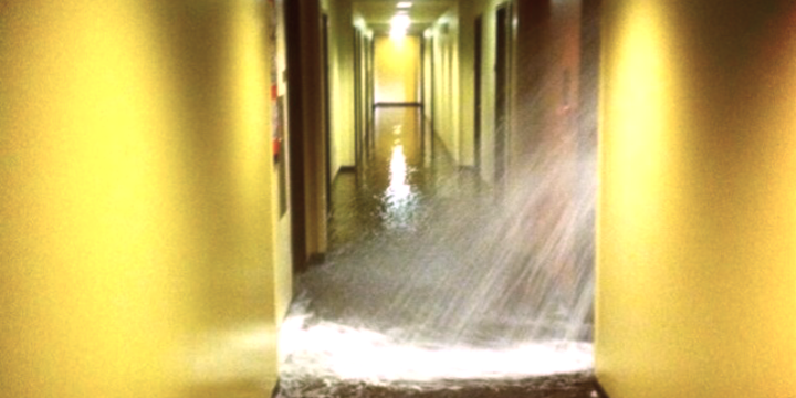 Dorm Flood