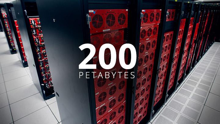 200 Petabytes