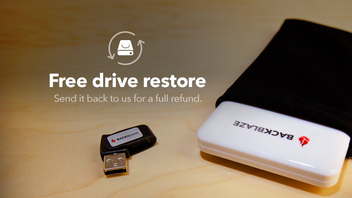 free usb and flash restore drives