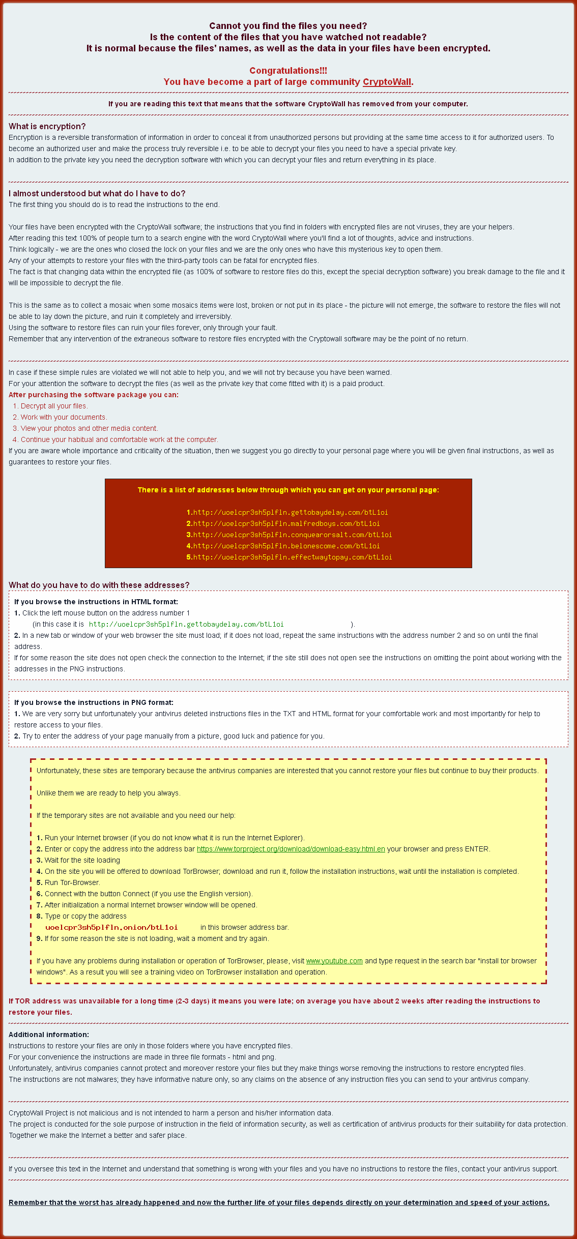 cryptowall ransomware help file