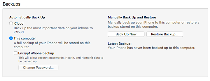 How to Back Up Your iPhone and iPad