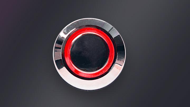 Backblaze Power Supply Button
