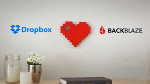 Dropbox and Backblaze