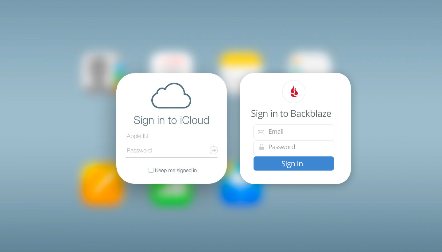 How to Use iCloud with an Online Backup Service