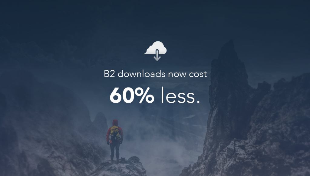 B2 Costs 60% Less