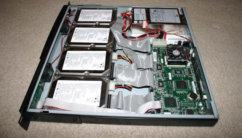 Retired rack server