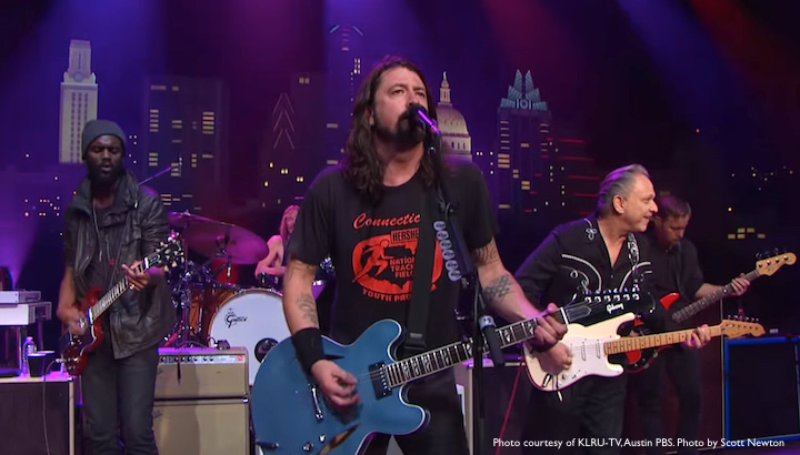Dave Grohl Austin City Limits performance