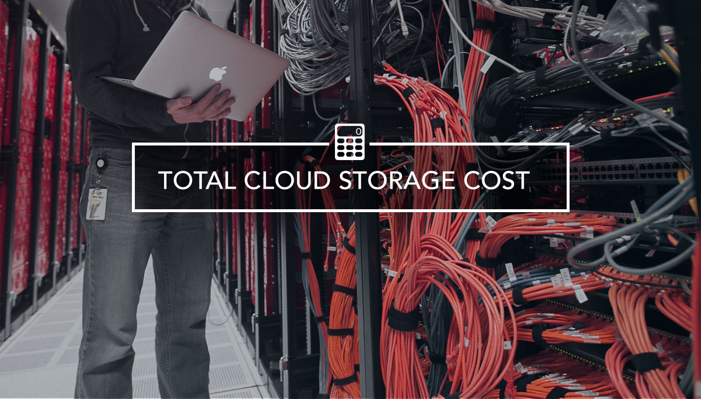 Total Cloud Storage Cost