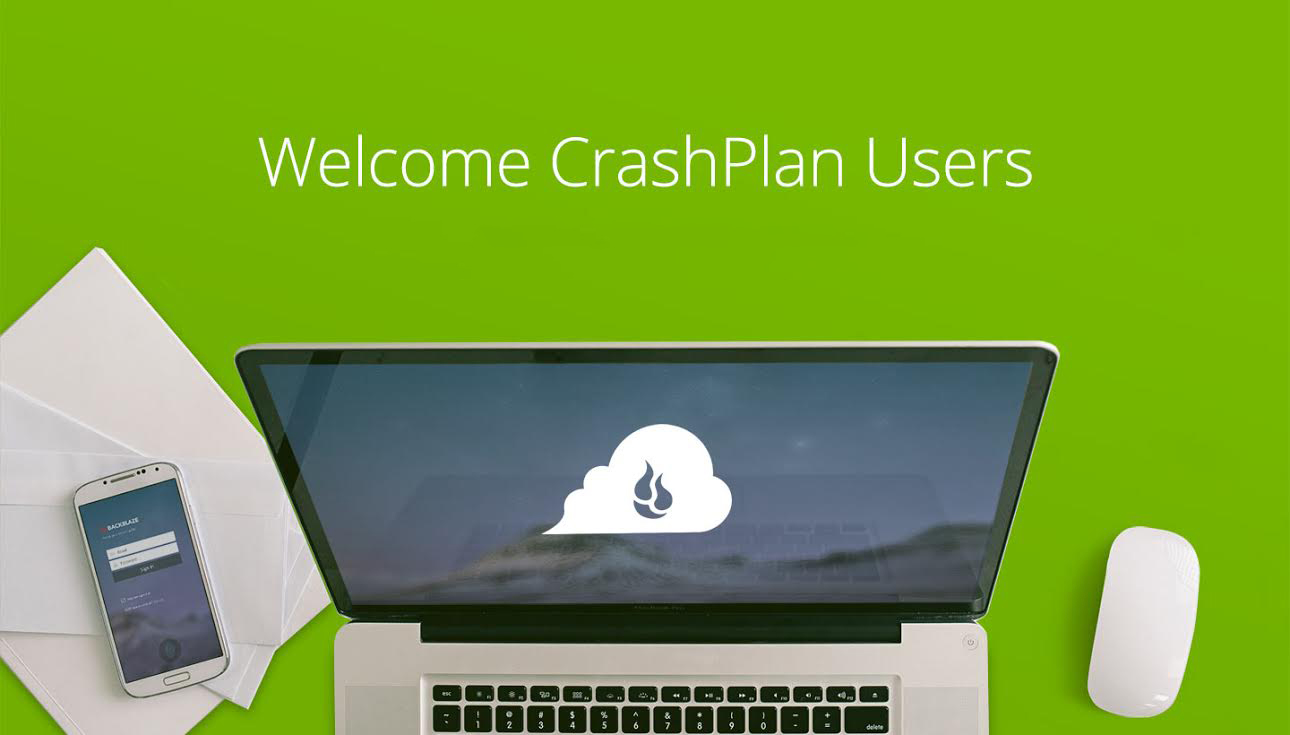 Welcome CrashPlan Users