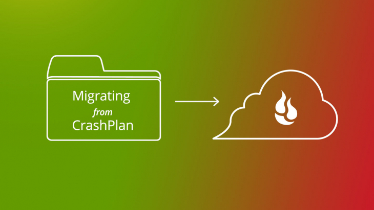CrashPlan Migration