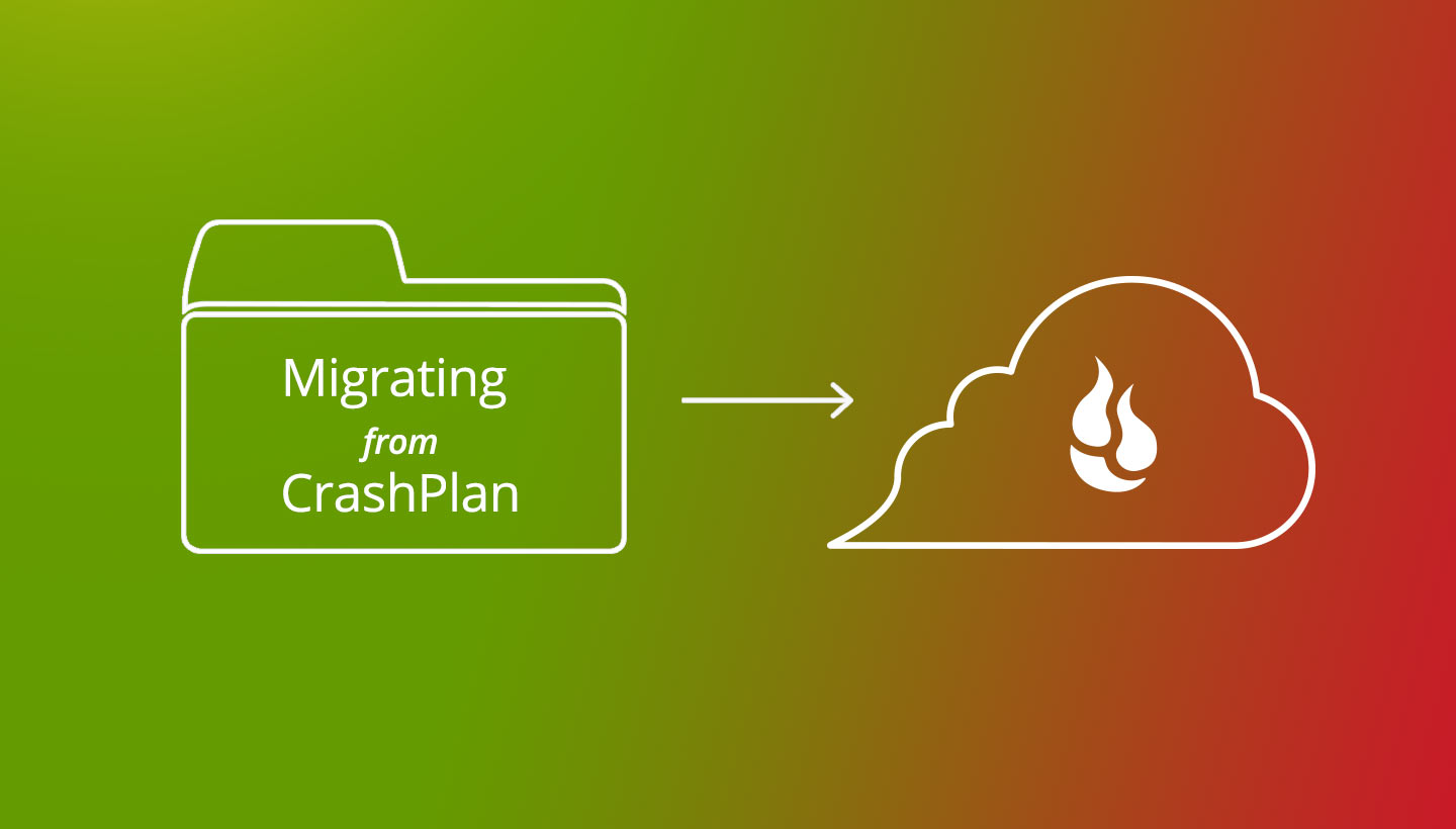 Migrating from Crashplan