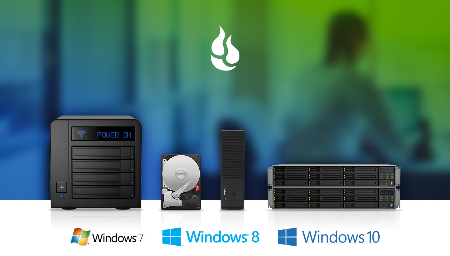 Windows 7, Windows 8, Windows 10 logos