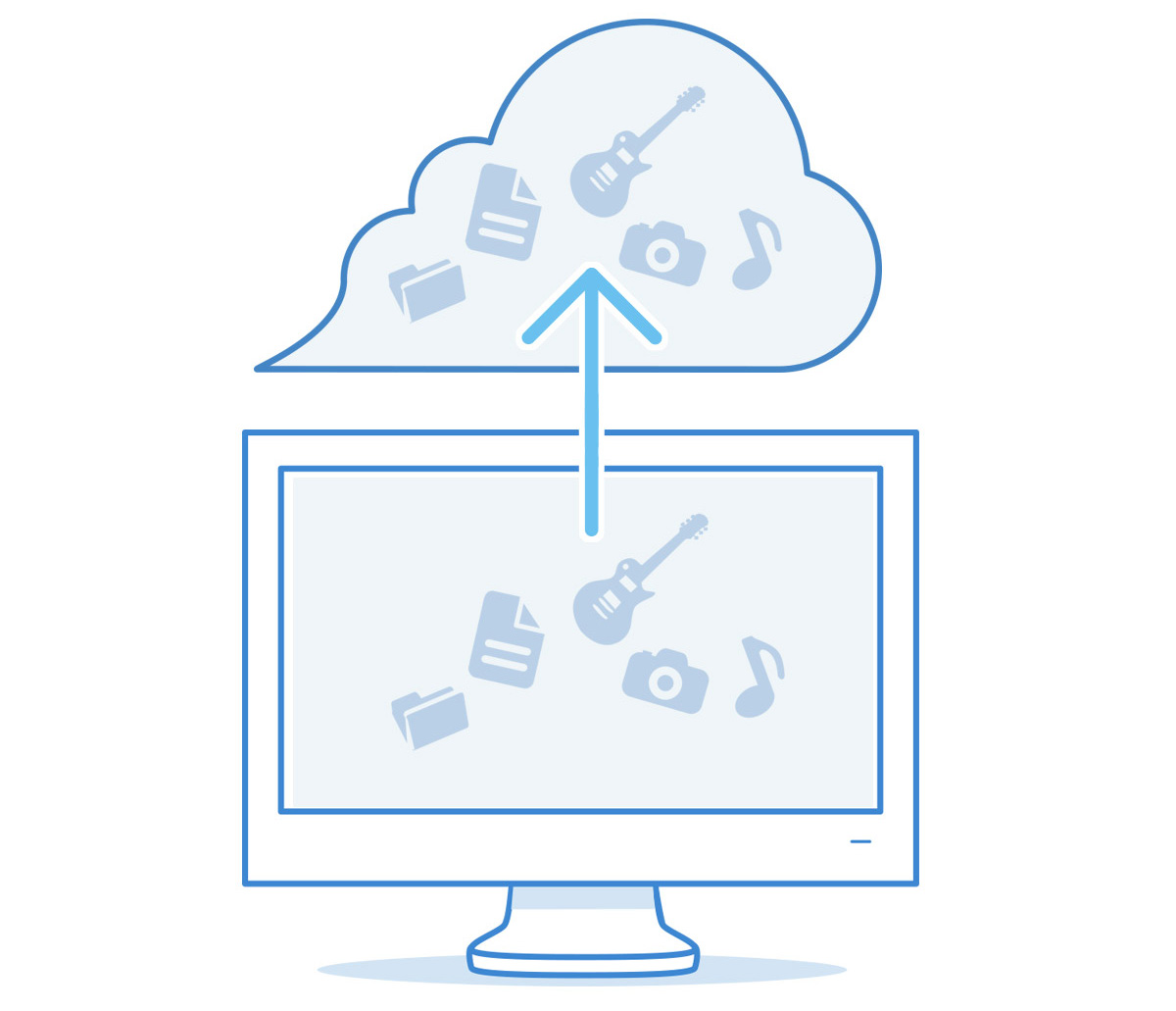 image of cloud backup