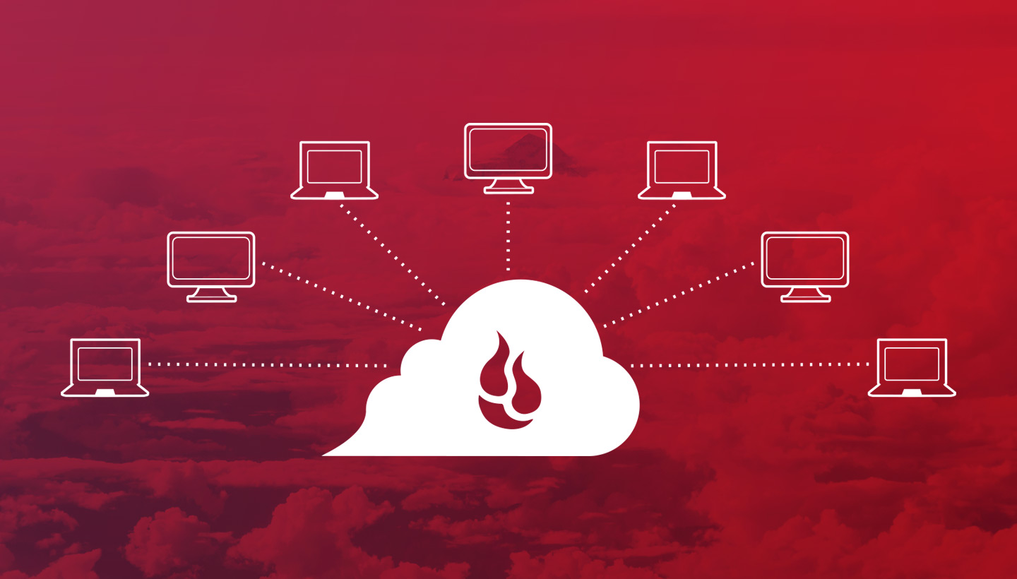 diagram of Backblaze remote monitoring and management