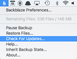 Mac backup update