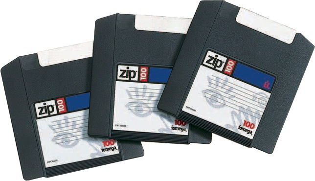 old Zip drive disks