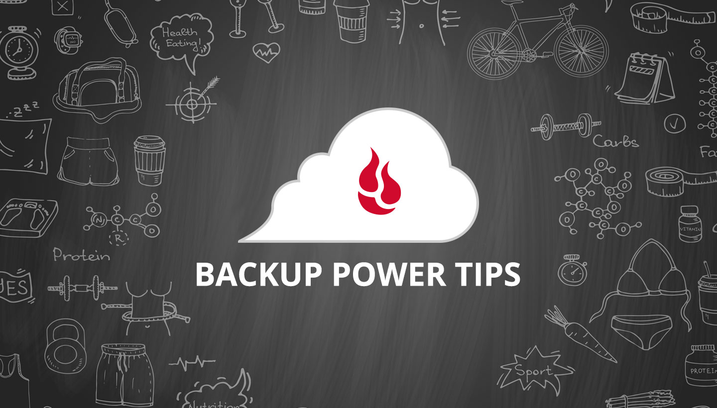 Backup Power Tips