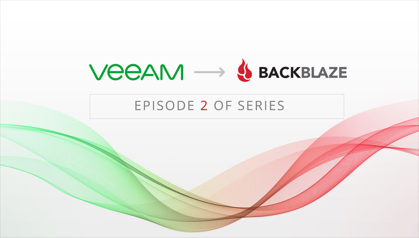 Connect Veeam to the B2 Cloud
