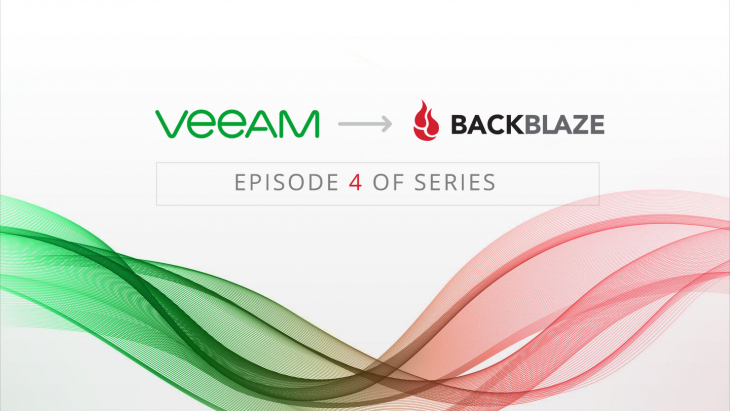 Veeam to Backblaze B2 Episode 4 of Series