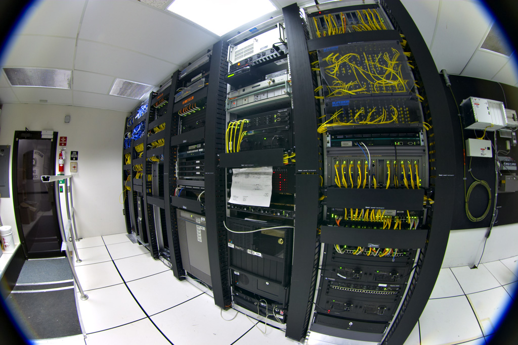 Data center telecommunications equipment
