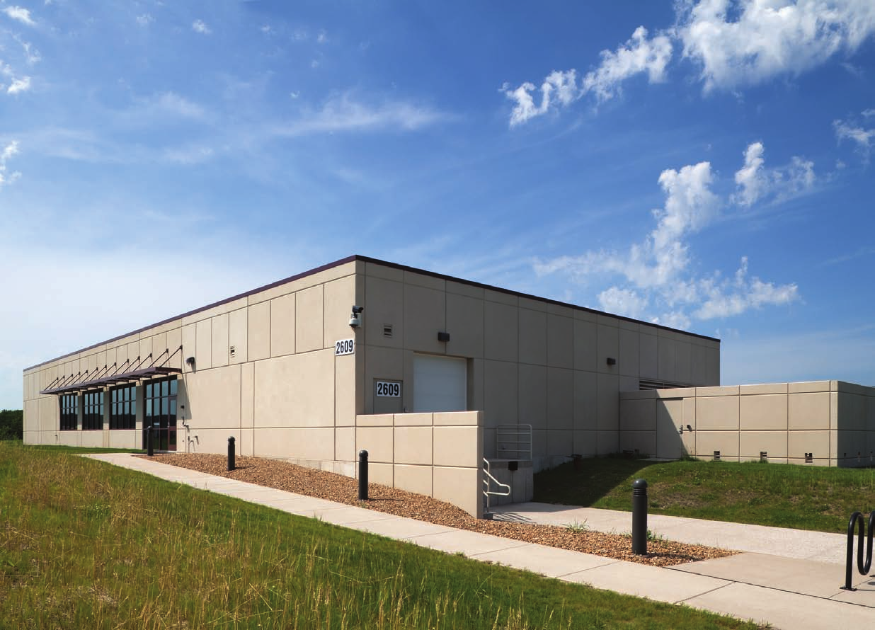 ACT Data Center exterior