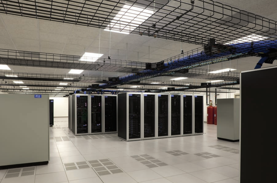 ACT Data Center interior