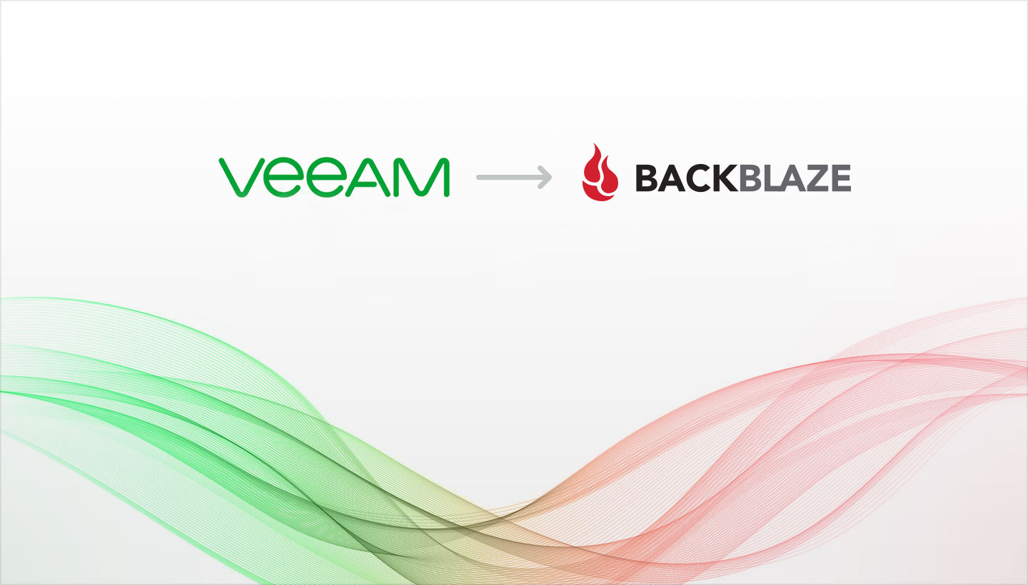 Connect Veeam to B2