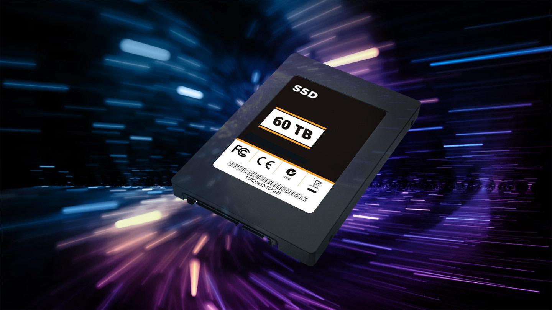 SSD 60 TB drive