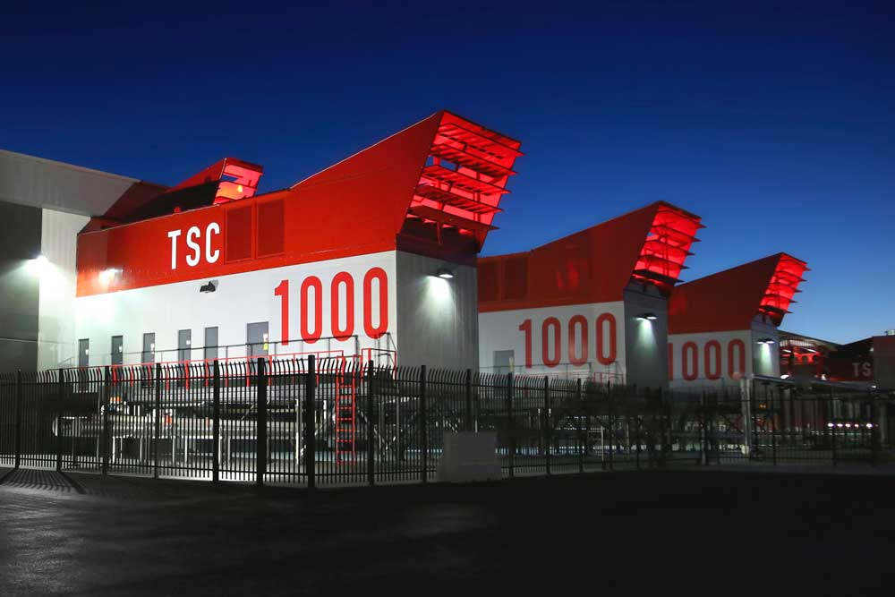 Switch's uninterruptible, multi-system, HVAC Data Center Cooling Units