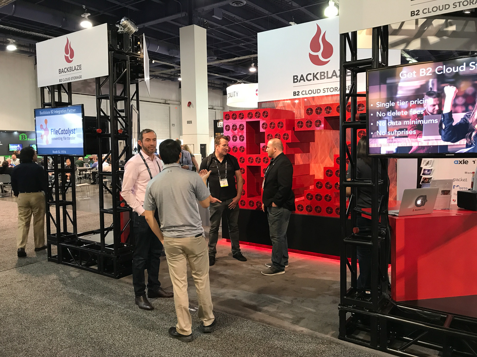 Backblaze at NAB 2018 in Las Vegas