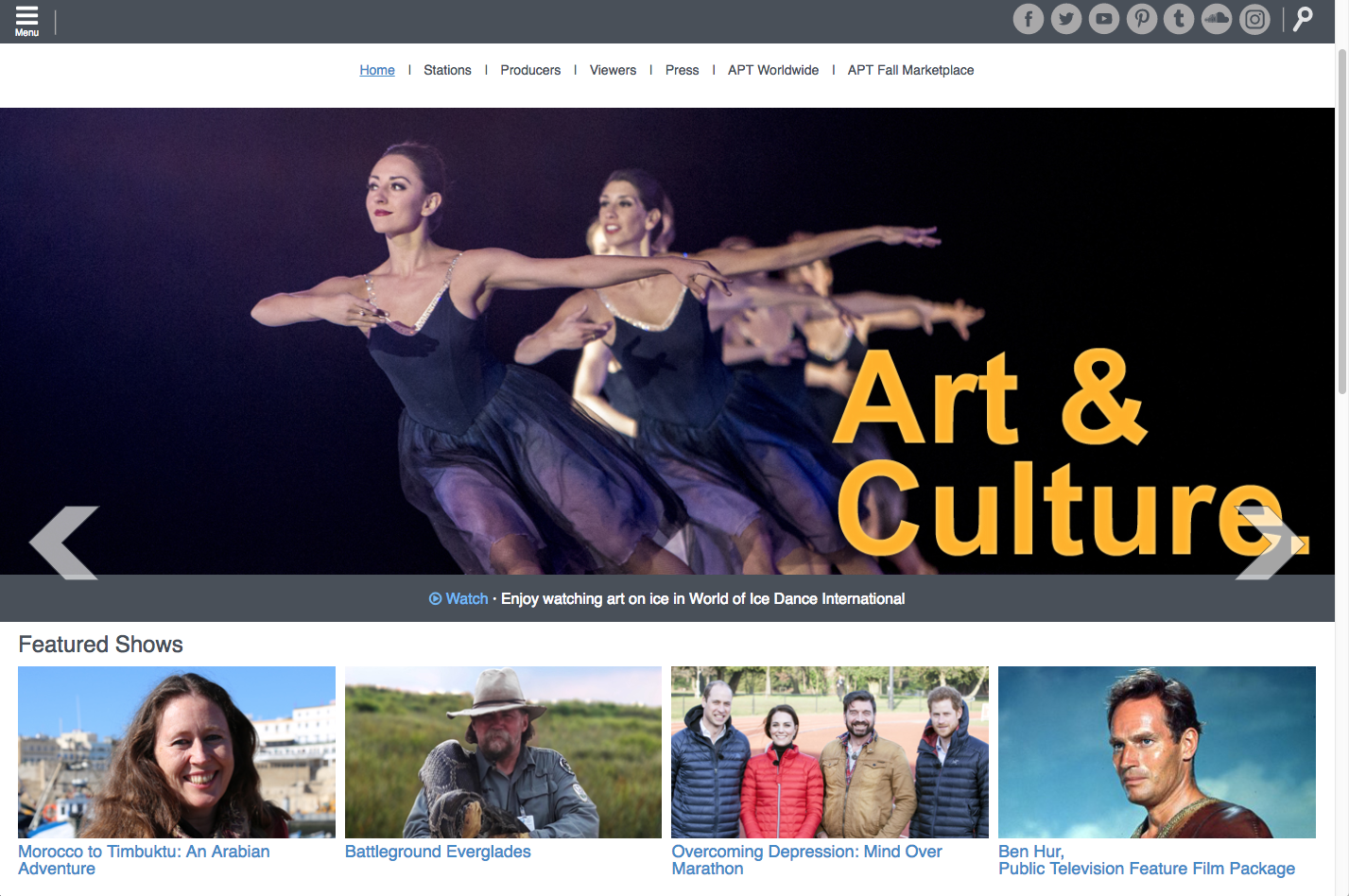 American Public Television website