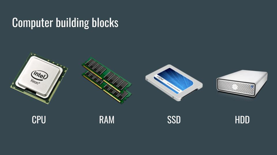 Computer building blocks