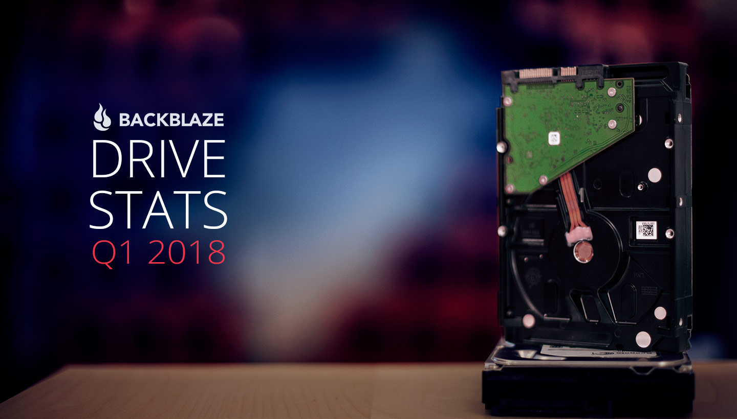Backblaze Drive Stats Q1 2018