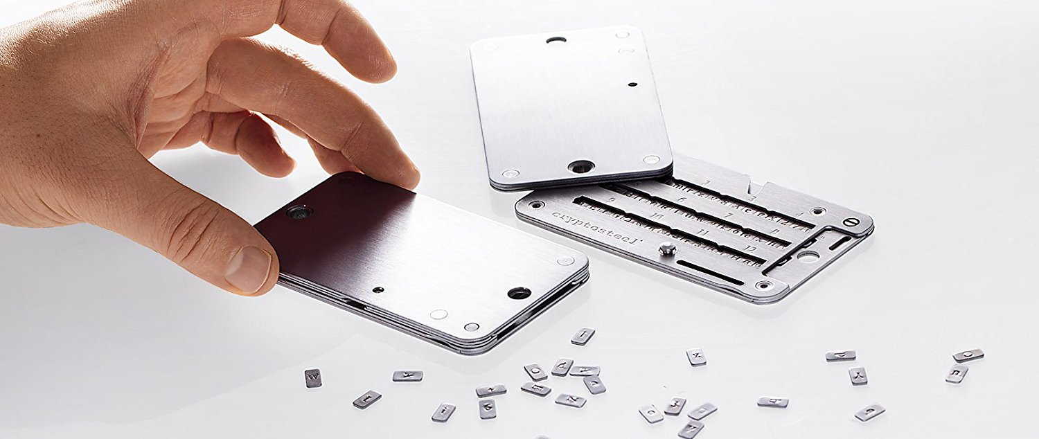 image of a Cryptosteel cold storage device